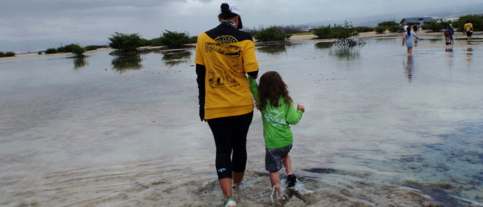 Mokauea island reef walk